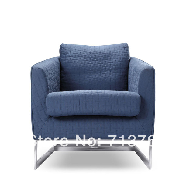 Single Sofa Chair What Can I Clean My Cream Leather With Modern Furniture Fabric Mcno456b In Living