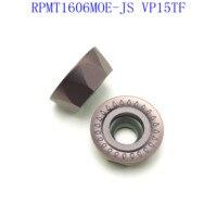 cnc cnc חותך הפנים טחינה חותך 20PCS אביזרים RPMT1606MOE VP15TF באיכות גבוהה להב קרביד ללבוש עמידים חותך מחרטה CNC (3)