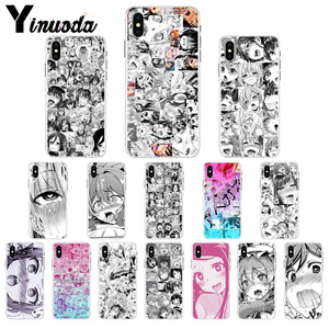 Yinuoda Anime girl cartoon japan cute faces Soft Shell Phone Cover for Apple iPhone 8 7 6 6S Plus X XS MAX 5 5S SE XR Cellphones(China)