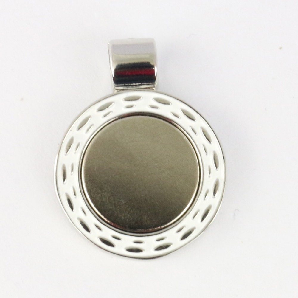 PINMEI Magnetic Pendants Golf Necklace Pendants Golf Ball Mark Holders