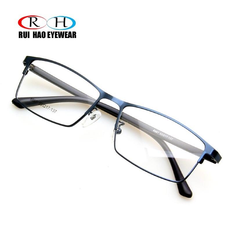 d49aa7d1ce Rui Hao Eyewear Brand Eyeglasses Frame Stainless Steel Eyewear Optical  Prescription Glasses Frame Rectangular Spectacles Frame-in Eyewear Frames  from ...