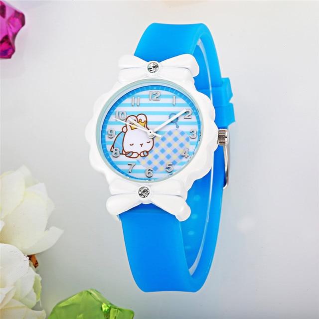 Hot Sale Children Watch Fashion Casual Watches Quartz Wristwatches Animal Rubber Kids Clock boys girls Students Wristwatch k1186