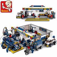 Sluban 0356 F1 レーシングカー 741 個教育レンガのおもちゃ Orignial ボックスなしで子供 Diy の子供のおもちゃキッズ最高のクリスマスギフト