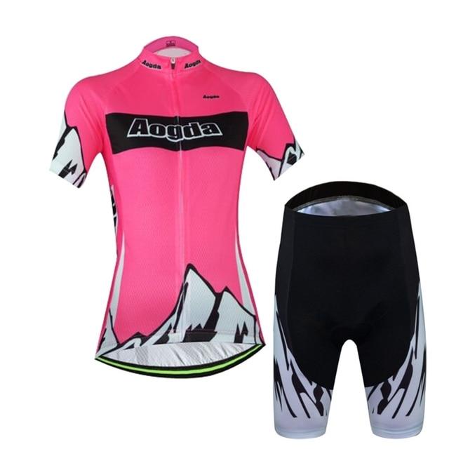9f70638ca 2016 2017 Women Cycling Jersey bikes 17s Cycling Clothing Pro Bike Jersey  Pink mountain Bike Wear Bicycle Shirts Top