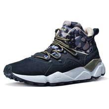 купить Rax 2018 Winter New Style Hiking Shoes Men Warm Snow Boots Sneakers for Men Outdoor Sports Walking Mountaining Shoes Breathable дешево