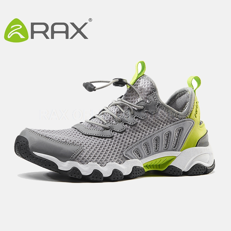 цена на Rax Hiking Shoes For Men Breathable Trekking Shoes Aqua Water Shoes Men Outdoor Trekking Walking Walking Mountain Boots Men