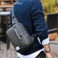 Nylon Crossbody Bags Oxford Cloth Men Single Shoulder Bag Waterproof Chest Package Travel Women Bag