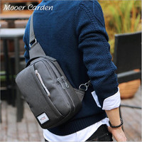 Nylon Crossbody Bags Oxford Cloth Men Single Shoulder Bag Waterproof Chest Package Travel Women Bag