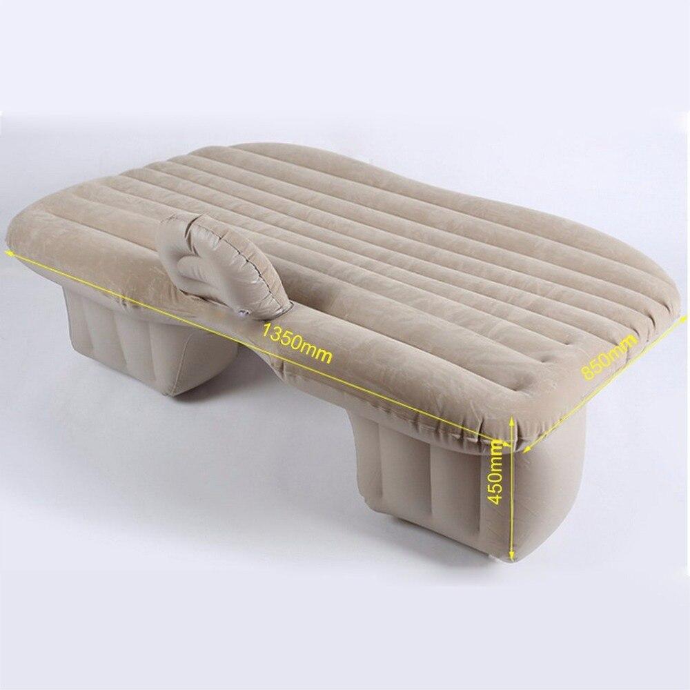 Grande taille Durable couverture de siège arrière de voiture matelas d'air lit de voyage matelas gonflable étanche à l'humidité lit d'air pour intérieur de voiture
