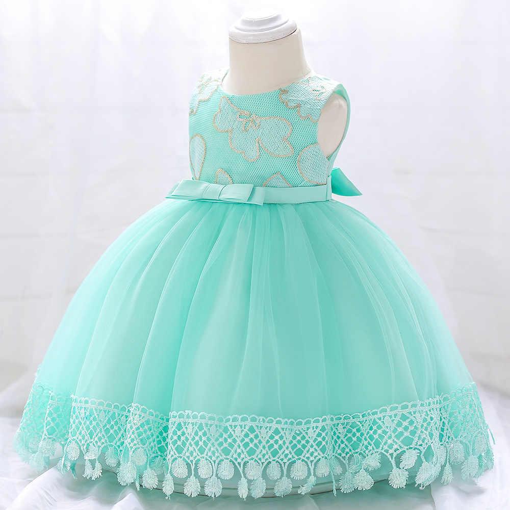2019 Nuevo Vestido De Niña Para 1 Año Vestidos De Cumpleaños