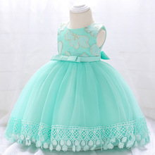 2018 New Baby Girl Dress for 1 Years Baby Girls Birthday Dresses Washing dress Vestido birthday party princess dress