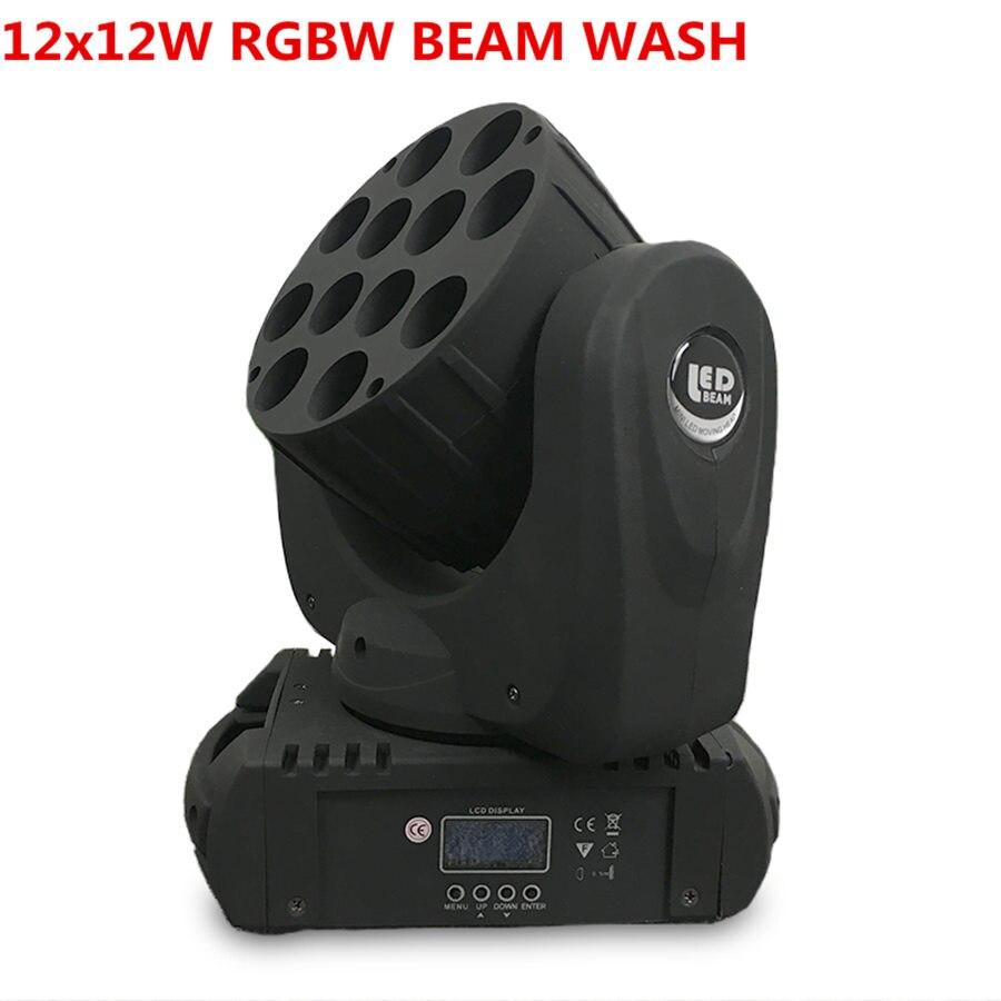 Le faisceau mené 12x12 W lavez la lumière d'étape de led orientable 12x12 w rgbw 4in1 a mené la lumière principale mobile de lavage, lavage de têtes mobiles de la chine