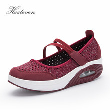 Hosteven Women Shoes Casual Sport Flats Sneaker Fashion Walking Spring Summer Loafers Breathable Air Mesh