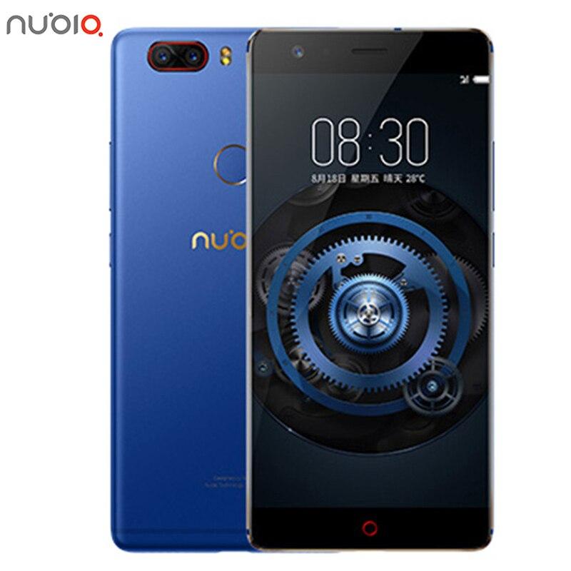 Neue Original ZTE Nubia Z17 Lite 6 GB RAM 64/128 GB ROM Handy Snapdragon 653 Octa-core 5,5