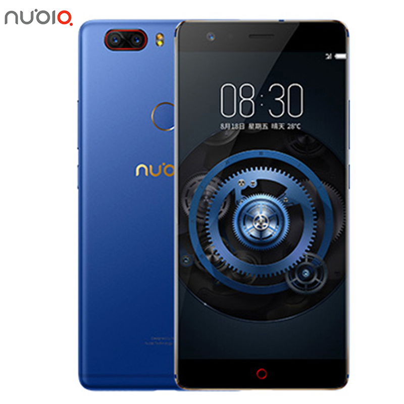 New Original ZTE Nubia Z17 Lite 6GB RAM 64/128GB ROM Mobile Phone Snapdragon 653 Octa Core 5.5 13MP Android 7.1 Fingerprint