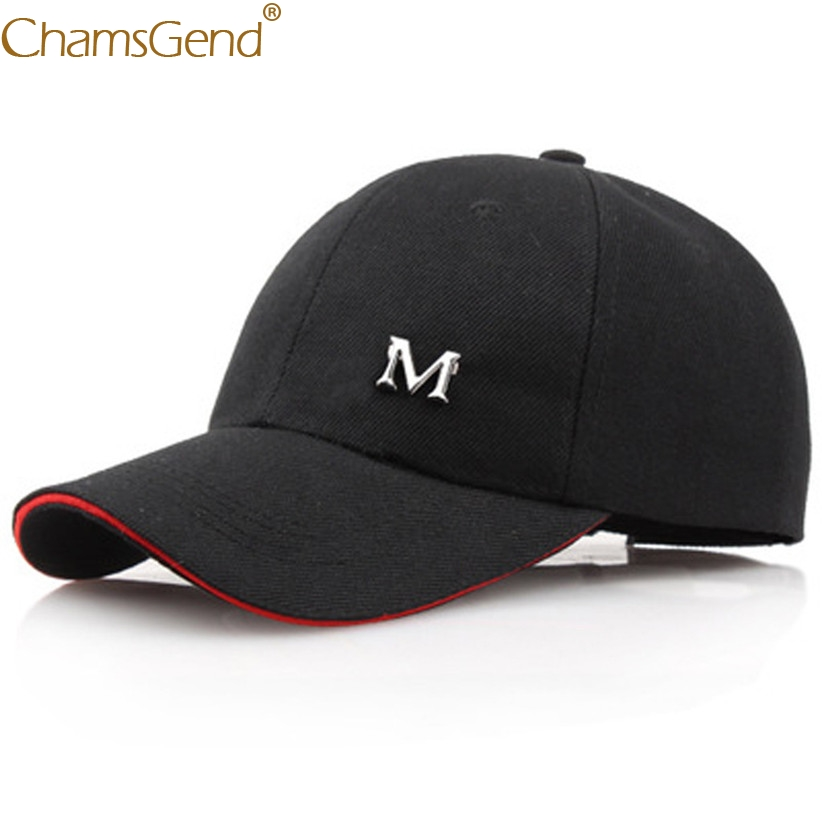 Men Women M Ltter Dad Hat Solid Black   Baseball     Cap   Cotton Unconstructed Fashion Unisex Dad   Cap   Hats Bone Garros 906