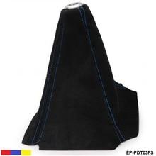 Ошейники для переключения передач, черный замшевый чехол для ручного/автоматического переключения передач, красный/синий/желтый EP-PDT03FS-ALBZ