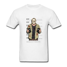 Jason Voorhees Freitag der 13th Maske T-Shirt Friday the 13th Tees tops 2017 mermaid twenty one pilots rock Mens T Shirts