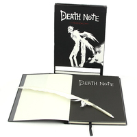 Lovely Fashion Anime Theme Death Note Cosplay Notebook New School Large Writing Journal 20 5cm 14
