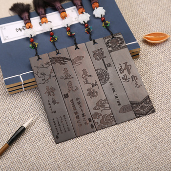Coloffice 1pc Wooden bookmark classical Chinese style creative Ebony wood bookmark custom bookmark factory direct Art Collection фото