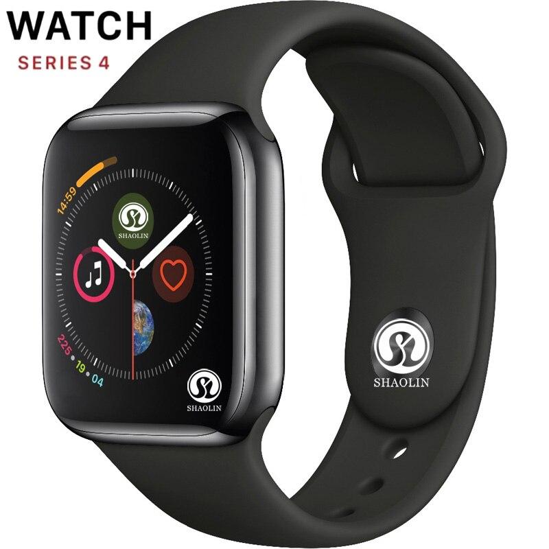 50% hors Bluetooth montre intelligente série 4 42mm Smartwatch pour apple Watch iphone 6 7 8 X Samsung sony Android montre intelligente téléphone