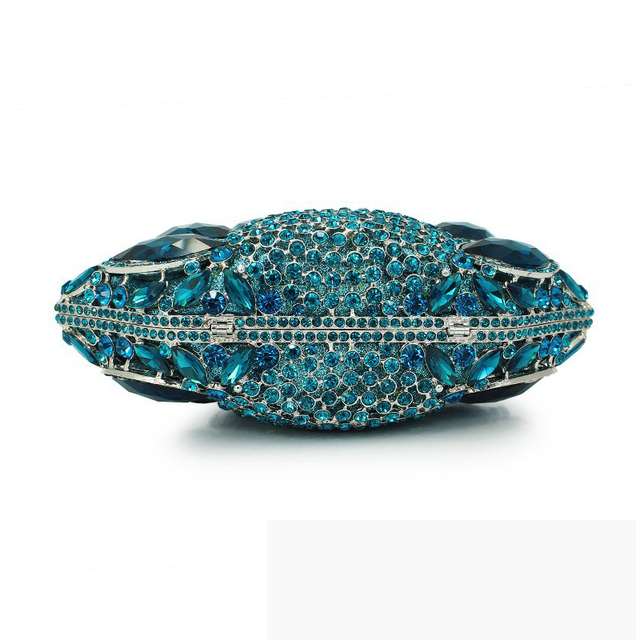 Diverse Color Rhinestone Crystal Evening Clutches  3
