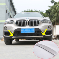 For BMW f48 X1 2016 2017 Car styling 304 Stainless Front Bumper Sill Plate Protector Cover Trim Stickers 1pc