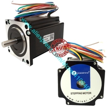 цена на Free Shipping GENUINE Leadshine 57HS22 2-Phase NEMA 23 Hybrid Stepper Motor with 1.5 N.m 4.0 A length 81mm shaft 6.35 or 8 mm