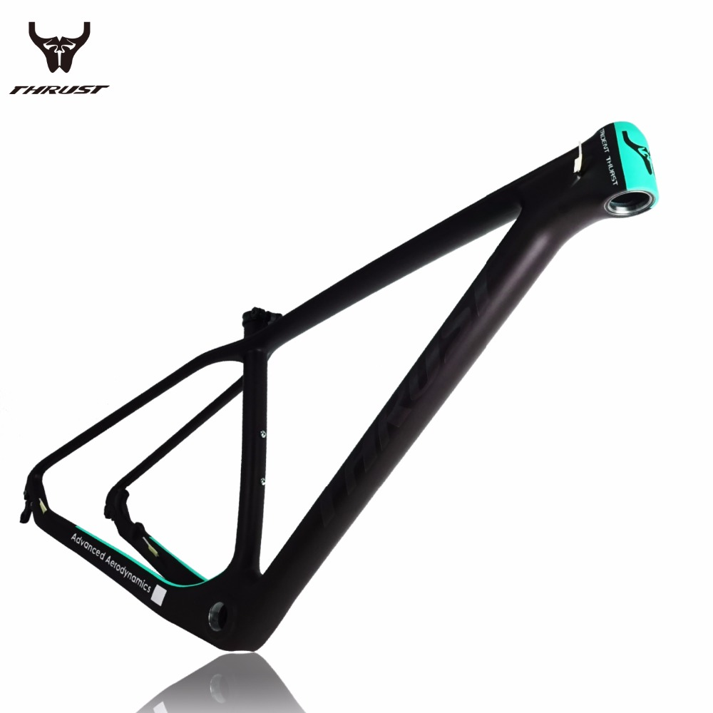 купить Carbon MTB Bicycle Frame New Carbon UD Mountain Bike MTB Frame 15/17/19 inch 27er/29er Bicycle Frame дешево