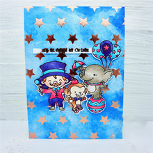 Circus Monkey Sea Lion Lion Elephant Metal Cutting Dies Clear Stamps for Craft Scrapbooking Embossing New Dies 2019 Card Making цена