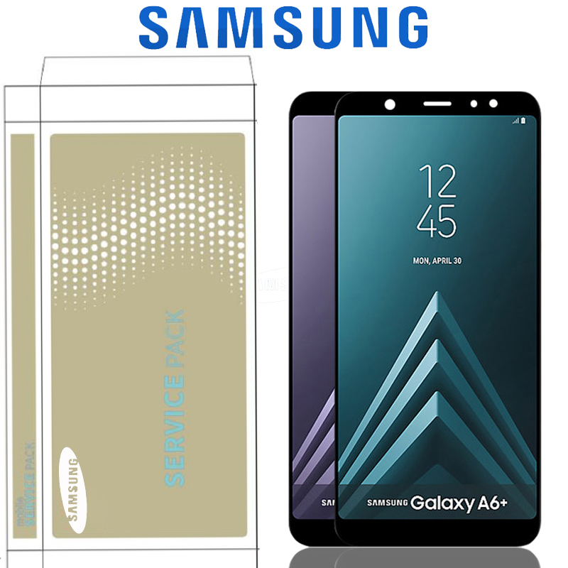 6 0 Original LCD Display For Samsung Galaxy A6 Plus 2018 A605 A6 Plus 2018 Display