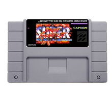 Hot Sale Super Street Fighter II - The New Chalengers Game Card For 46 Pin 16 Bit NTSC Game Player