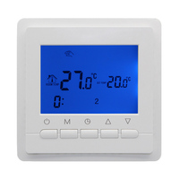 3A 220V Programmable Room Digital Thermostat For Gas Boiler Electric Boiler LCD Screen Temperature Controller Weekly