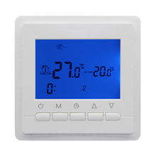 Compare Prices 3A 220V Programmable  Room Digital Thermostat for Gas Boiler Electric boiler  LCD Screen Temperature Controller weekly programme