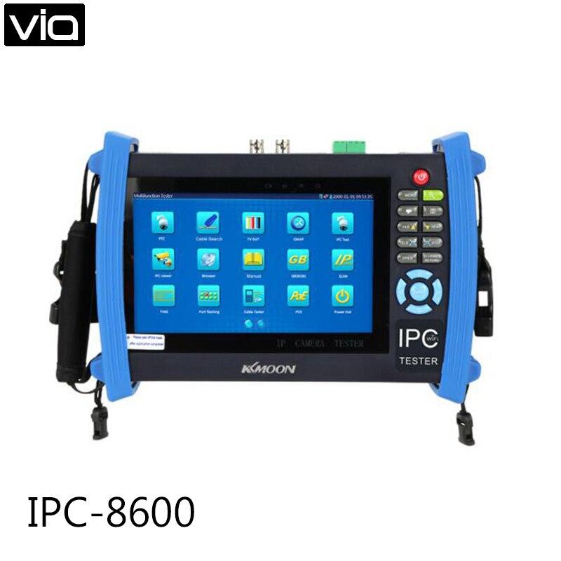 2019 Mode Ipc-8600 Direkt Fabrik Ip-kamera Cctv Tester 7 Zoll Touch Screen Monitor Onvif Ip Kamera Bild Test Mobilen Client Video Hdmi