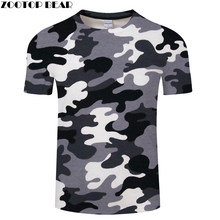 Red Gray green camouflage Clothing 3d Printed Tshirt Men Women Short Sleeve T-shirt Brand Top T shirt Funny Tees Asian size 6xl(China)