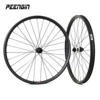 Эксцентричный углерода колеса 29er Асимметричная MTB велосипед колесной 27,5 дюймов clincher Бескамерная Совместимость горный велосипед обучение г
