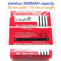 Venta al por mayor 18650 baterías de litio fuera de la carcasa de película retráctil 3000 mah capacidad batería de litio cubierta de calor P V C