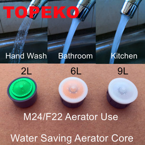 Free Shipping-Water Saving Aerator Core Set(TP-A06)-M24/F22 Aerator Use-30%-70% Money Saving