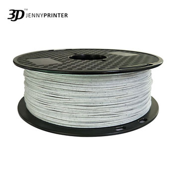 Jenny 3D Printer Printing Material Filament PLA 1.75mm 1KG 320m Marble Color image