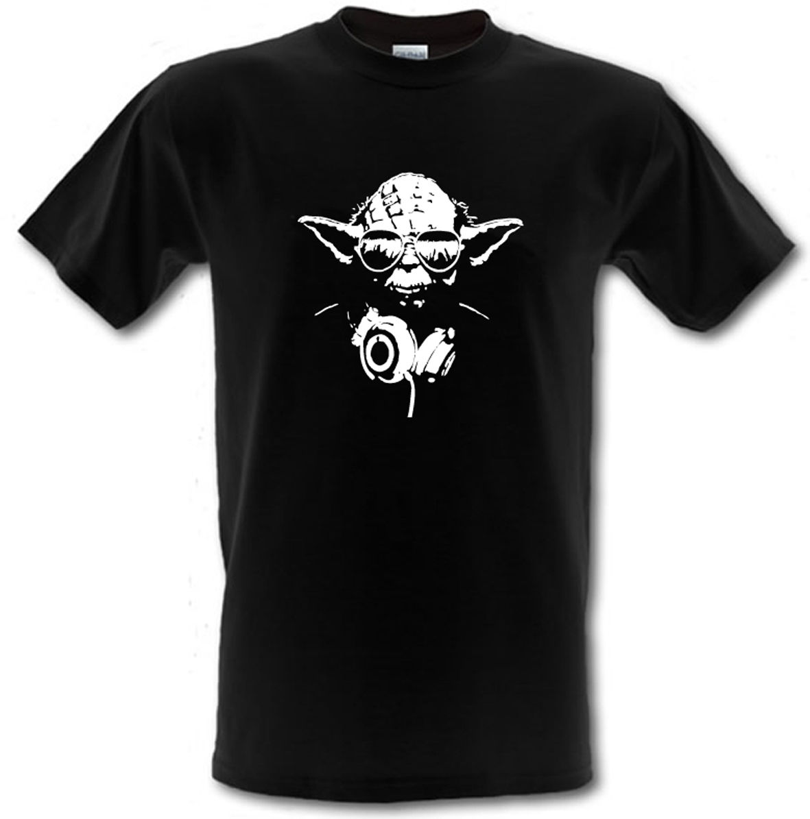DJ YODA STAR WARS FILM Heavy Cotton T-shirt Sizes from Small to XXXL Free shipping