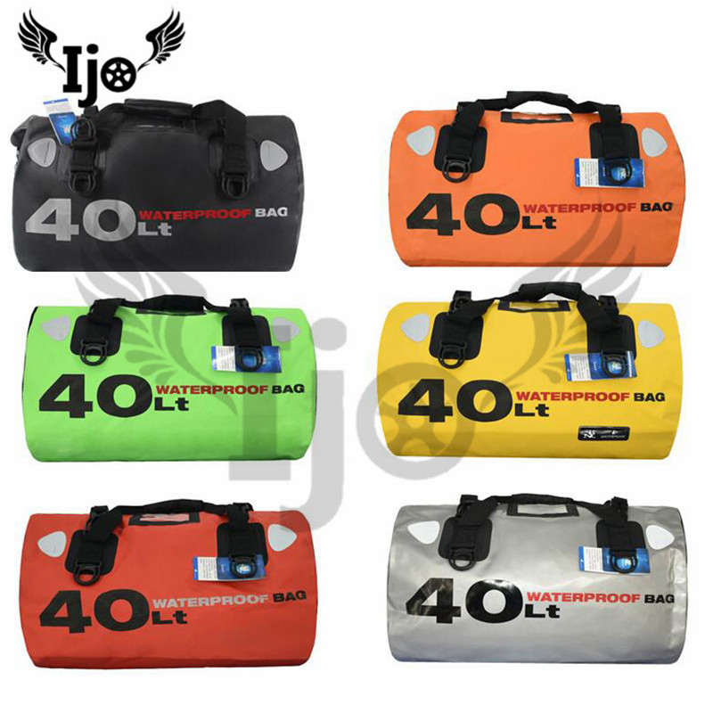 big size part waterproof motorbike travel bag luggage bag large capacity rider moto rear seat bag tool strap motorcycle tail bag