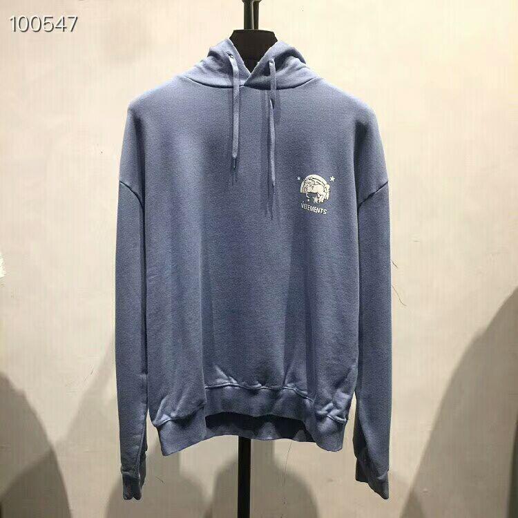 2019SS haute qualité mode vêtements Vetements oversize arc-en-ciel licorne imprimé hommes femmes pull à capuche Hip hop Sweatshirts
