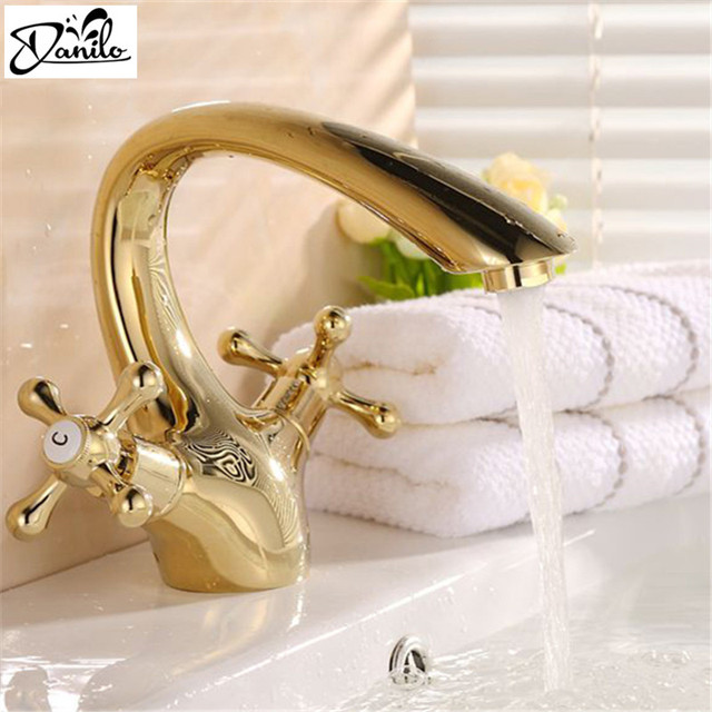 Aliexpress.com : Buy New Design Luxury Classical Gold bathroom ...