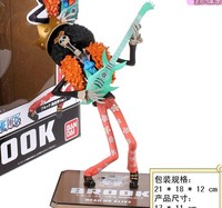 Japanese Anime Cartoon Two Years Later One Piece Brook PVC Action Figure Model Collection Toy Kunai
