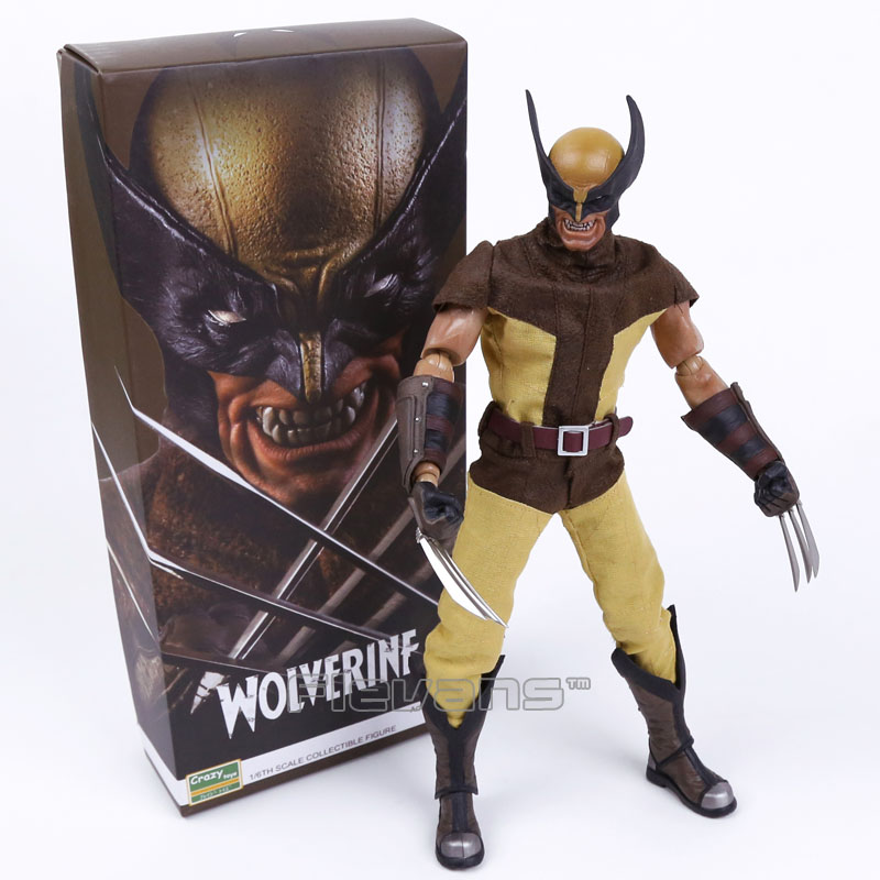 Crazy Toys X-MEN Wolverine Logan 1/6TH Scale Collectible Action Figure Model Toy 12 30cm цена