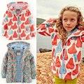2016 nova primavera crianças crianças roupas meninos jaquetas casacos impermeáveis à prova de vento de desportivo meninas outerwears