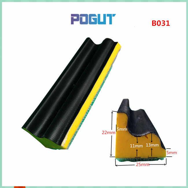 Bentuk khusus Blok Abrasive Pengamplasan Tangan Pad Dasar untuk Hook & Loop Pengamplasan Disc Kertas