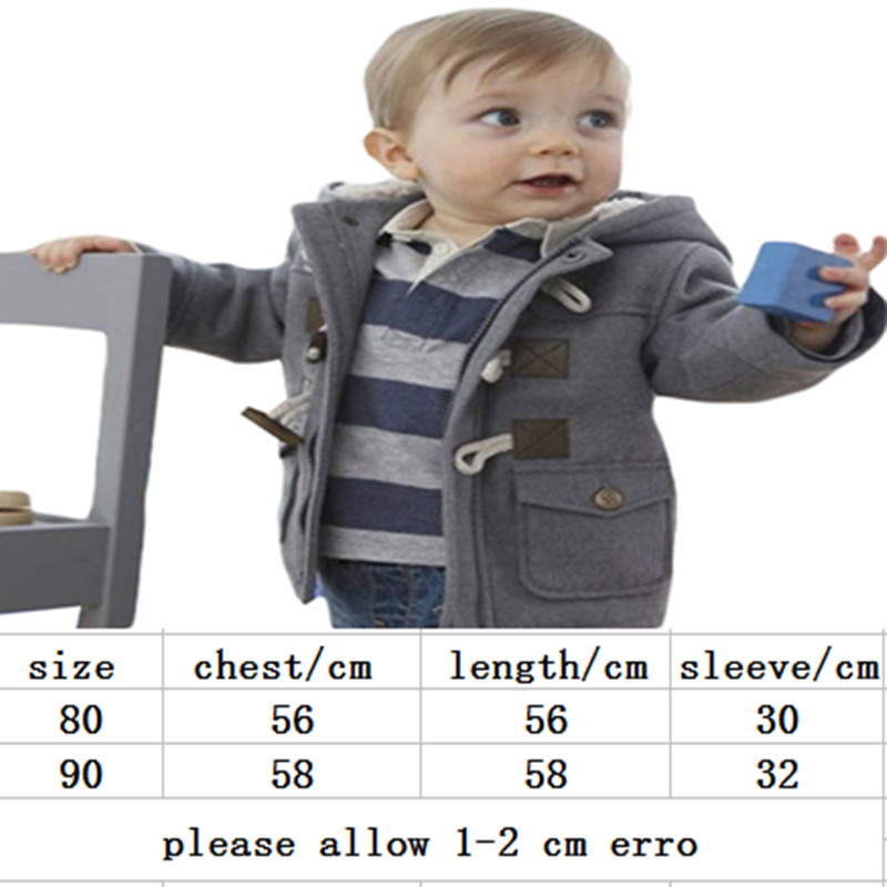 3c0fed88a4d3 New Winter Newborn Baby Cotton Girls Coats   Jackets Casual Baby ...
