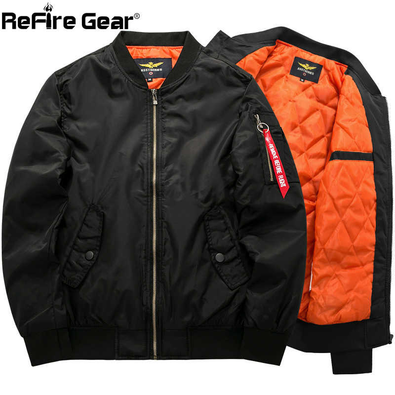 25dce3107 Detail Feedback Questions about New Fashion MA 1 Air Force Bomber ...